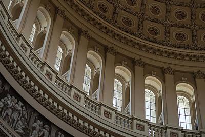 U S Capitol Dome Original by Steve Gadomski