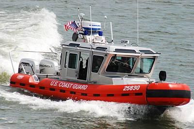 U. S. Coast Guard - Speed Art Print