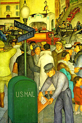 Photograph - U S Mail by Joseph Coulombe