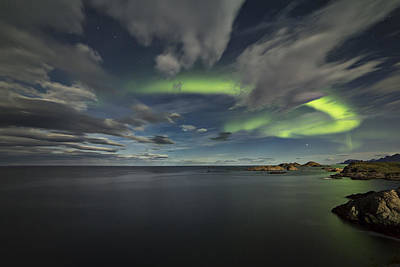 Arctic Photograph - U-turn by Frank Olsen