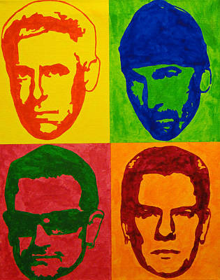 U2 Art Print by Doran Connell