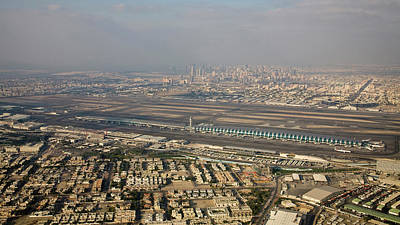 Dubai Photograph - Uae, Dubai Aerial View Of Dubai by Jaynes Gallery