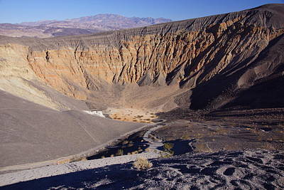 Photograph - Ubehebe Crater by Michael Courtney