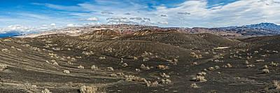 Ubehebe Lava Fields, Ubehebe Crater Art Print