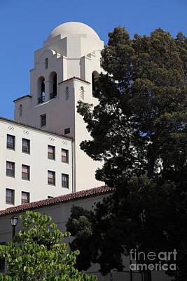 University Of California At Berkeley Photograph - Uc Berkeley International House College Dormatory 5d24741 by Wingsdomain Art and Photography