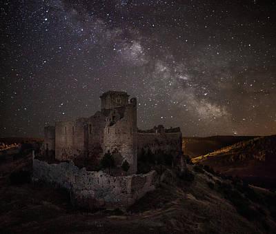 Castle Ruins Wall Art - Photograph - Ucero Castle by Martin Zalba