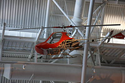 Udvar-hazy Center - Smithsonian National Air And Space Museum Annex - 1212101 Art Print by DC Photographer