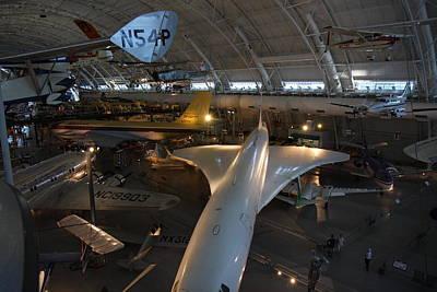 Udvar-hazy Center - Smithsonian National Air And Space Museum Annex - 1212104 Art Print