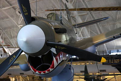Jet Photograph - Udvar-hazy Center - Smithsonian National Air And Space Museum Annex - 12124 by DC Photographer