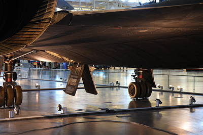 Udvar-hazy Center - Smithsonian National Air And Space Museum Annex - 121246 Art Print