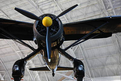 Udvar-hazy Center - Smithsonian National Air And Space Museum Annex - 121249 Art Print by DC Photographer