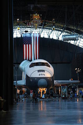 Udvar-hazy Center - Smithsonian National Air And Space Museum Annex - 121255 Art Print by DC Photographer