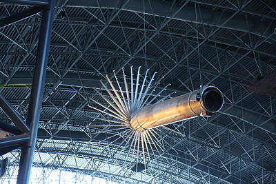 Udvar-hazy Center - Smithsonian National Air And Space Museum Annex - 121263 Art Print by DC Photographer