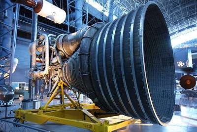 Rockets Photograph - Udvar-hazy Center - Smithsonian National Air And Space Museum Annex - 121268 by DC Photographer