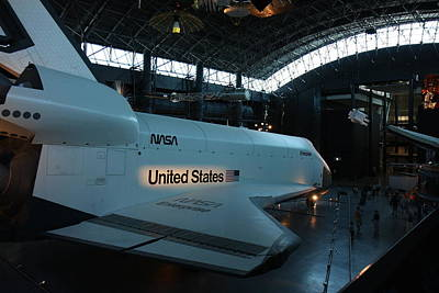 Udvar-hazy Center - Smithsonian National Air And Space Museum Annex - 121278 Art Print by DC Photographer