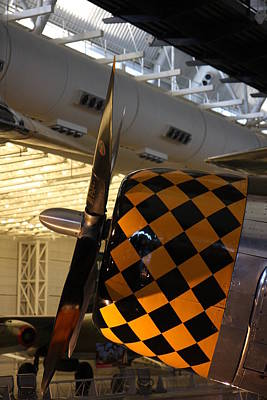 Udvar-hazy Center - Smithsonian National Air And Space Museum Annex - 121289 Art Print by DC Photographer