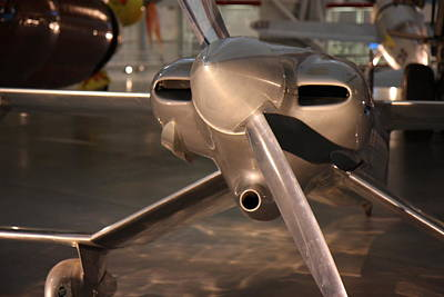 Udvar-hazy Center - Smithsonian National Air And Space Museum Annex - 121290 Art Print by DC Photographer