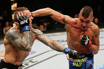 Photograph - Ufc Fight Night Sanchez V Pearson by Josh Hedges/zuffa Llc