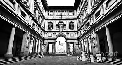 Uffizi Gallery In Florence Art Print by JR Photography
