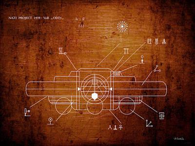 Ufo Alien Tech Language Original by Baciu Cristian Mihai