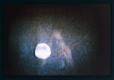 Ufo Filmed By Australian  Reporter Art Print