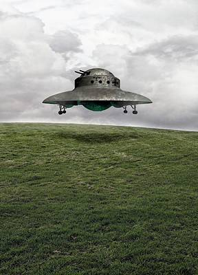 Unidentified Photograph - Ufo by Victor Habbick Visions