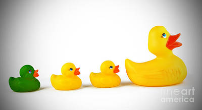 Rubber Ducky Wall Art - Photograph - Ugly Duckling by Brandon Alms