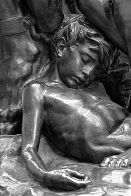 Photograph - Ugolin Detail From Orsay Museum by Michael Kirk