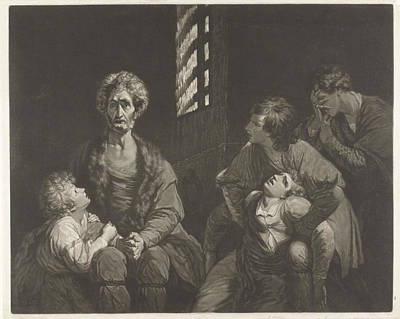 Ugolino Conte Della Gherardesca Dies With Three Of His Sons Art Print by Artokoloro