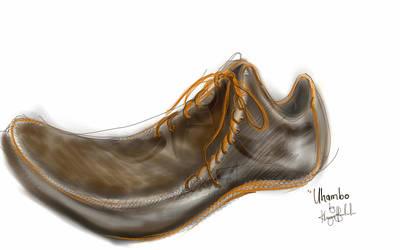 Digital Art - Uhambo1 by Khaya Bukula