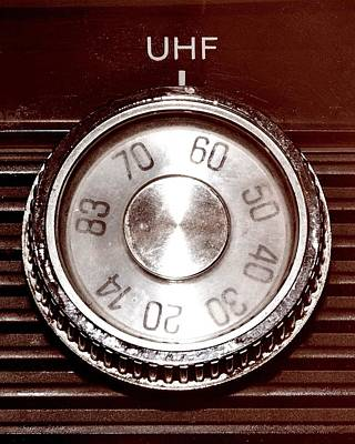 Photograph - Uhf Channel 62 by Benjamin Yeager
