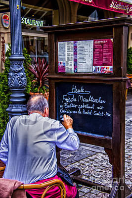 Photograph - Uiebachs For Lunch by Rick Bragan