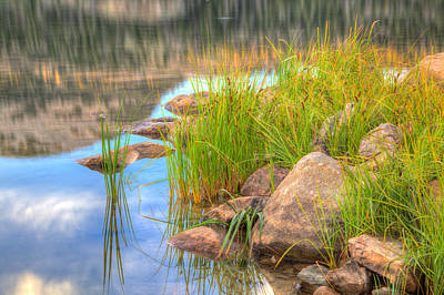Uinta Reflections Art Print