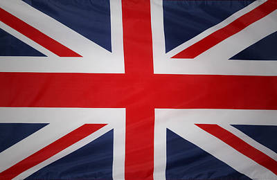Uk Flag Art Print by Les Cunliffe