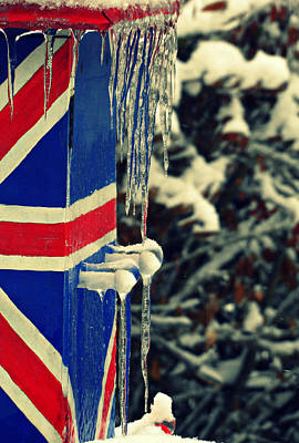 Photograph - Uk Iced by Cyryn Fyrcyd