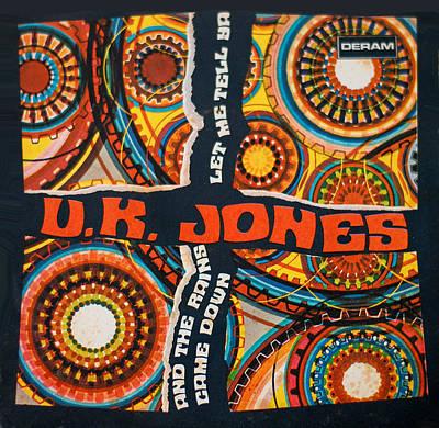 Cover Digital Art - Uk Jones Let Me Tell Ya by Gina Dsgn