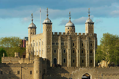 Tower Of London Wall Art - Photograph - Uk, London, Tower Of London by Tetra Images