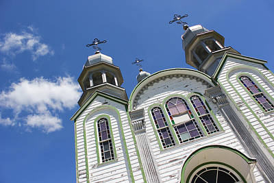 Photograph - Ukrainian Orthodox Church - Wroxton by Ryan Crouse