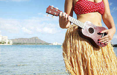 Photograph - Ukulele Dancer by Brandon Tabiolo