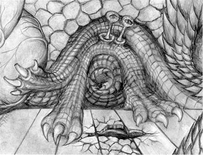 Drawing - Ulcer by Vincent Autenrieb