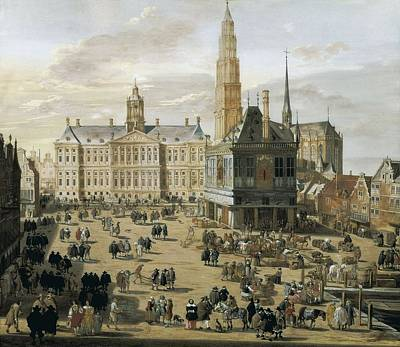 Ulft, Jacob Van Der 1627-1689. Damm Art Print by Everett