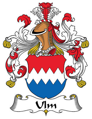 Ulm Digital Art - Ulm Coat Of Arms German by Heraldry