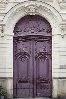 Paris Photograph - Ultra Violet by Irene Suchocki
