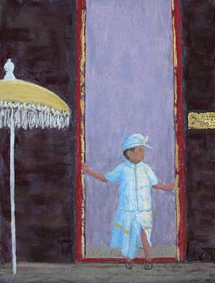 Pastel - Ulun Danu Beratan by Patricia Beebe