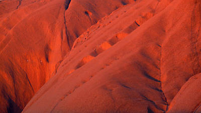 Art Print featuring the photograph Uluru 1 by Evelyn Tambour