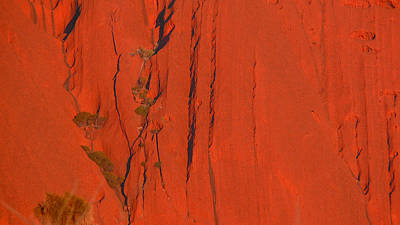 Art Print featuring the photograph Uluru 3 by Evelyn Tambour