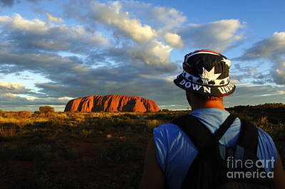 Photograph - Uluru Australia 2 by Bob Christopher