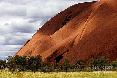 Photograph - Uluru Australia 3 by Bob Christopher