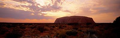 Ayers Rock Photograph - Uluru-kata Tjuta National Park Northern by Panoramic Images