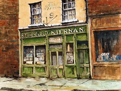 Dublin  The Ulysses Pub  Original by Val Byrne